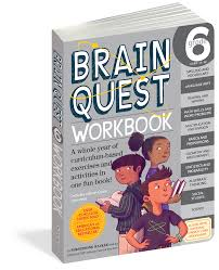 brain quest workbook grade 6 workman publishing