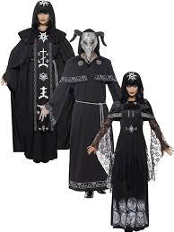black magic halloween fancy dress dark arts voodoo costume men