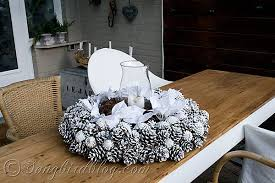 pine cone table decorations outdoor christmas decorations
