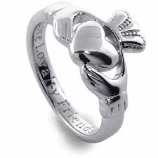 claddagh wedding ring sterling silver claddagh ring claddagh ring
