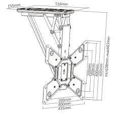 Motorized Ceiling Mount Tv by Remote Control Motorised Flip Down Tv Ceiling Mount U2014 Lithe Audio