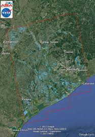 The Rift Ce Treasure Map New Nasa Satellite Flood Map Of Southeastern Texas Sentinel 1
