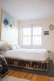 West Elm White Bedroom Bed Frames Bed Frames Queen Solid Wood Platform Bed Frame West