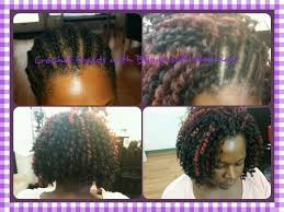 black hair stylists in st pete fl celebrating 1 year natural with crochet braids with bijoux soft dred