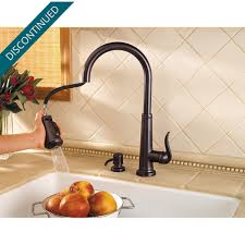 tuscan bronze ashfield 1 handle pull down kitchen faucet f 529