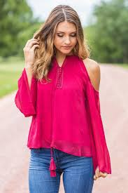 cold shoulder tops like this cold shoulder lace up detail sleeve top