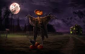 cute scarecrow wallpaper halloween scary horror nights scarecrow pumpkin haunted house hd