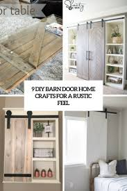 9 diy barn door home crafts for a rustic feel shelterness