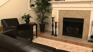 pacific accents hartford wood floor pillar w flameless candle