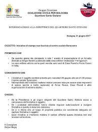 casa editrice bologna a bologna il fumetto su ramelli coalizione civica protesta