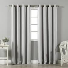 Contemporary Blackout Curtains Modern Blackout Curtains Drapes Allmodern
