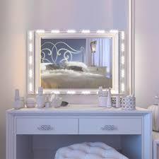 vanity mirror with led lights vanity mirror led light 12 5ft 75 led bulbs ul safety standard make