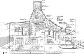 section through nora house by atelier bow wow architecture ideas