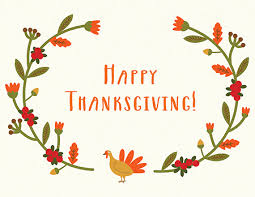 happy thanksgiving cards postable