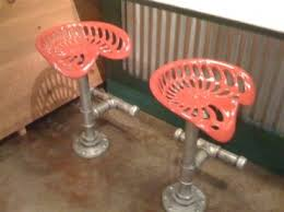 best 25 tractor seat bar stools ideas on pinterest tractor seat