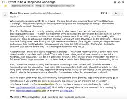 five examples of covering emails which landed jobs elevator