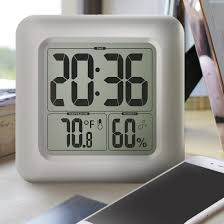 amazon com baldr bathroom clock lcd waterproof shower home u0026 kitchen