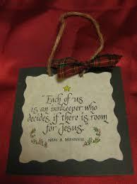 innkeeper ornament craft gift and holidays