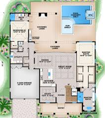 traditional style house plan 5 beds 5 50 baths 6027 sq ft plan