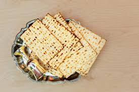 matzos for passover pesach matzo with wine and matzoh passover bread stock