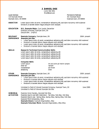 Job Resume Email by Simple Job Resume Examples Template