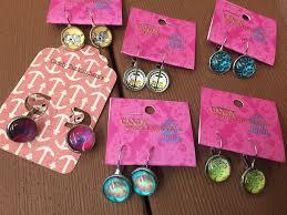 buckingham earrings graphic print mini dangle earrings candy buckingham s online