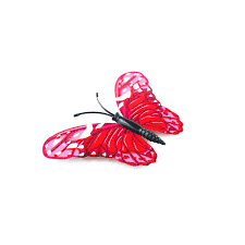 Butterfly Cake Decorations On Wire 12pcs Colorful 3d Artificial Wire Butterfly Wedding Cake Topper