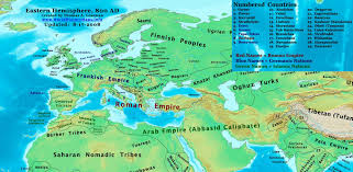 Blank Map Of Middle East by Maps The History Of Byzantium