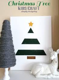 painted holiday tree kid craft texturedsurface