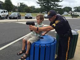 police pushing the pendulum