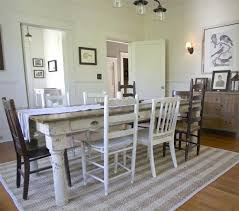 cottage style round dining room table beautiful cottage dining