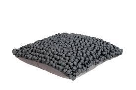 g bl sessel kissen bergen grau bl 45x45 cm in grau polyester von blyco