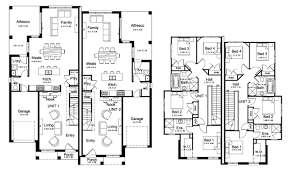100 single story duplex designs floor plans best 25 narrow