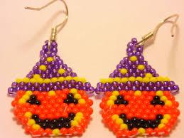 jack o lantern earrings halloween earrings festive earrings