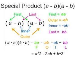 special product definition formula lesson transcript