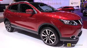 car nissan 2017 2017 nissan qashqai exterior and interior walkaround debut at