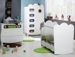 chambre bebe chambre bébé lit plexiglas éa blanc chambrekids