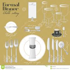 how to set a formal table for dinner formal dinner party place