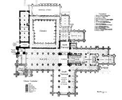 Medieval Floor Plans Medieval Chester Abbey Plans
