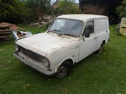 bedford ha130 viva van barn find ex severn trent barn