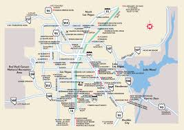 Zip Code Map Las Vegas Nv by Map Of Las Vegas Nevada And Surrounding Area Virginia Map