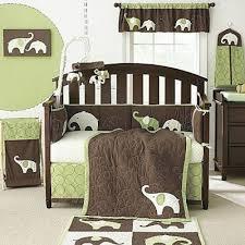 Green Elephant Crib Bedding S By Line Green Elephant 4 Crib Set Chicken