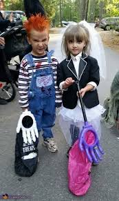 Chucky Halloween Costume Kids Chucky Bride Chucky Kids Halloween Costume Diy