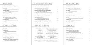 restaurant menu design portfolio of vytautas mondeika