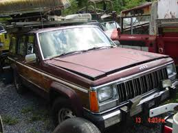 tan jeep cherokee 1991 jeep cherokee briarwood 4 0 auto tan interior wood grain