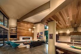 luxury mountain home flashing mid century modern appeal freshome com