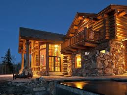 Log Cabin Home Decor Luxury Log Homes With Pool Dzqxh Com