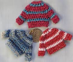 mini sweaters to knit and crochet free patterns