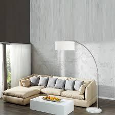 wohnzimmer new york design bogen stehlampe