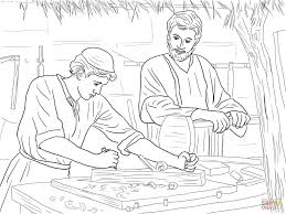 coloring page of jesus growing up archives mente beta most